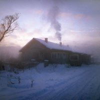 Утро в деревне :: Валерий Талашов