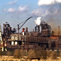 Индустриальный пейзаж :: Геннадий Валеев