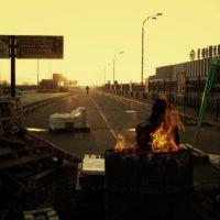 Утро на баррикадах :: Werdna Шустикевич