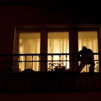 А в это время на балконе ... )))) :: Venera Shafigullina