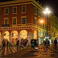 Поздним вечером в Ницце :: Лидия Цапко