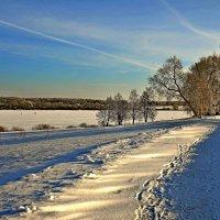 зимний пейзаж :: Андрей Куприянов