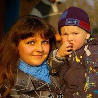 я даже в зеркало не улыбаюсь от того что серьезный такой :: Андрей Тарасенко