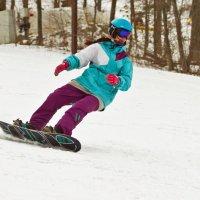 сноубордистка :: Ольга Киселева
