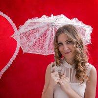 Кружевной зонтик :: Ольга Тельнова