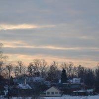 Утро в деревне. :: Михаил Столяров