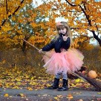 Полина маленькая колдунья :: Катерина Терновая