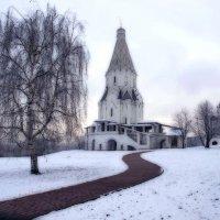 Эскиз на тему снега, который вроде бы был... :: Ирина Данилова