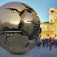 Рим, Ватикан, Sfera con Sfera (Сфера внутри сферы) :: Татьяна Нестерова