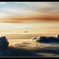 Над облаками свой мир, свои облака... :: Sergey Kuznetcov