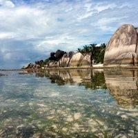 Серия TROPICAL PARADISE.  Наверное рай на земле выглядит вот как то так... Остров Ла-Диг, Сейшелы :: Ашот ASHOT Григорян GRIGORYAN