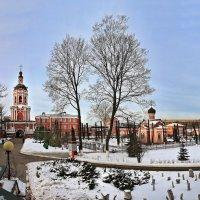 моя столица .донской монастырь(патриарший) Москва (день) :: юрий макаров