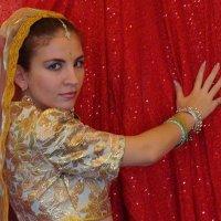 индийская красавица :: наталия савченко
