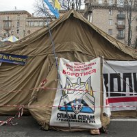 Revolutionary Tent :: Roman Ilnytskyi