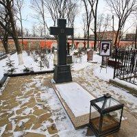 моя столица .донской монастырь(патриарший) Москва(могила солженицина) :: юрий макаров