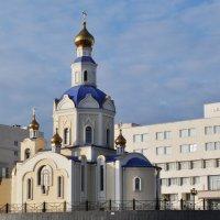 храм на территории Университета Белгород :: Вячеслав Гостев