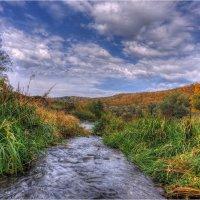 Протока осенью на реке Осетр :: Nikita Volkov