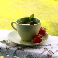 Чай с летом :: Наталья Казанцева