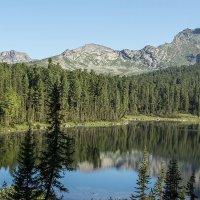 горное озеро :: Дамир Белоколенко