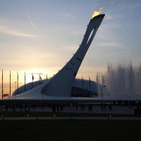Олимпийский огонь :: Александр Фёдоров
