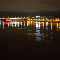 Огни вечернего Новгорода :: Константин Жирнов