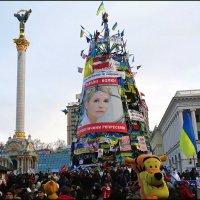Майдан.Как все начиналось. Главная елка Украины 2014 года :: Владимир Бровко
