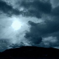 суровое небо Норвегии :: Елена Познокос