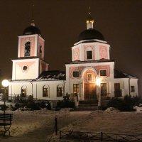 церковь Никольское :: Оксана Акильева