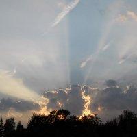 Закатные лучи :: Анатолий Антонов
