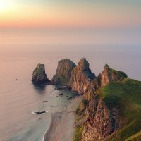 Четыре скалы :: Эдуард Ефремов