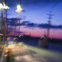 Поезд в движении :: Антон Бояркеев
