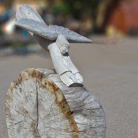 Икар Выставка оригинальной скульптуры у музея истории Кронштадта :: Александр Казаков