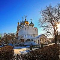 моя столица новодевичий монастырь :: юрий макаров