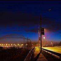 "Огни ""Южного моста"" :: Denis Aksenov"