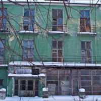 Старый фасад... :: игорь козельцев