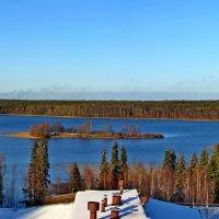 Вид на озеро. Санаторий Беломорье. :: Иван Клещин