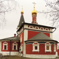 Церковь Николая Чудотворца в Сабурове :: Александр Качалин