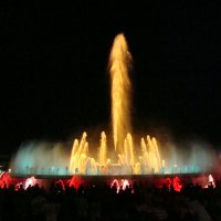 Барселонские поющие фонтаны :: svk