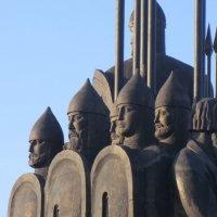 Русские воины и князь Александр Невский... :: Владимир Павлов