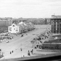 Новосибирск. Вид на главную площадь после демонстрации. :: Олег Афанасьевич Сергеев