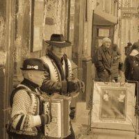 Street musicians in Lviv :: Andriy Medynskyi