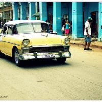 Classic car on the road :: Arman S