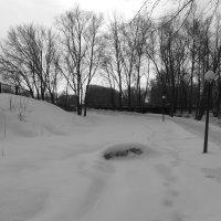 А снег-то посерел ! :: НАДЕЖДА КЛАДЧИХИНА