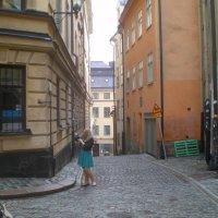 Улочка Стокгольма. 2012г. :: Мила