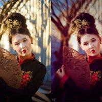 весенняя история (до и после) :: Veronika G