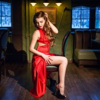 Lady in red :: Николай Ридберг