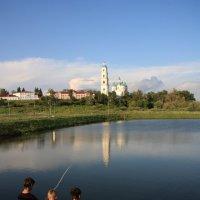 Рыбалка на закате :: Светлана Смирнова