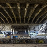 из жизни калининградских мостов :: Елена Аксамит