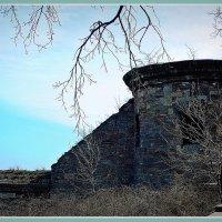 пороховая башня и остатки крепостной стены :: Александр Корчемный