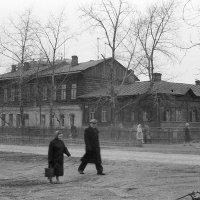 Новосибирск. Дом, в котором жил. 1961 г. :: Олег Афанасьевич Сергеев